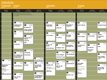 click to see the 2009 online schedule